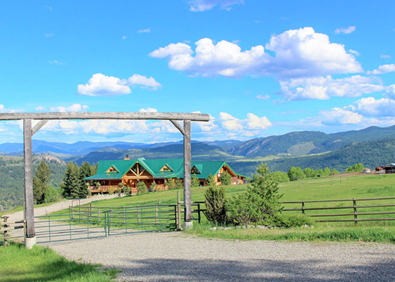 Spectacular Estate Home with Panoramic Views - Rock Creek, BC