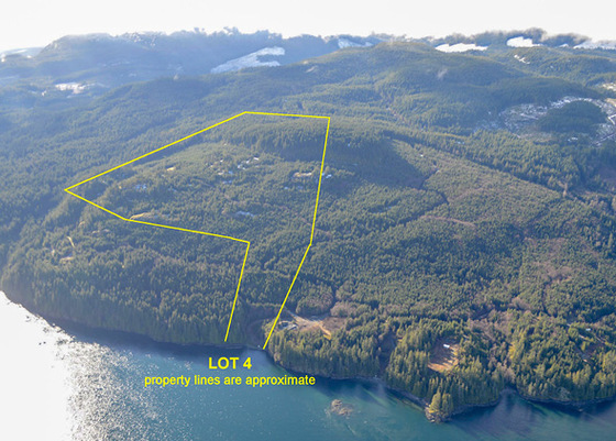 Vancouver Island Oceanfront - Discovery Passage Lot 4