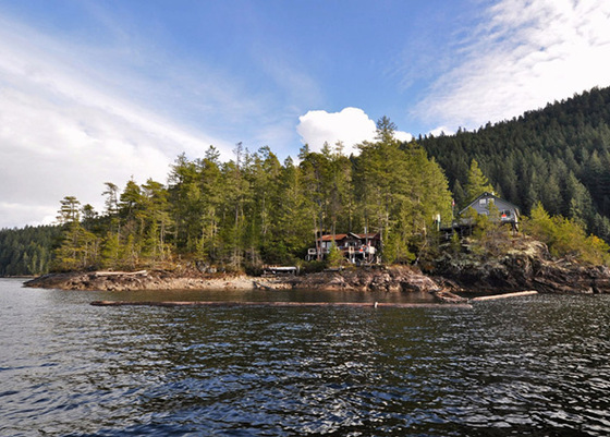 Stunning Small Island with 2 Cabins - Powell Lake, BC