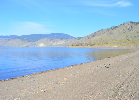 Lakefront Acreage with Beach - Kamloops Lake, BC