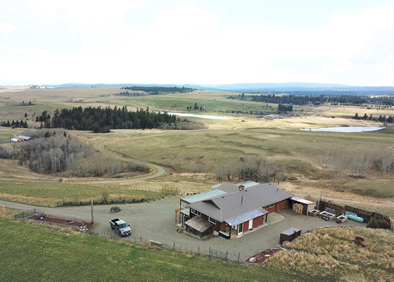 Stunning Home and Acreage with Panoramic Views - Knutsford, BC