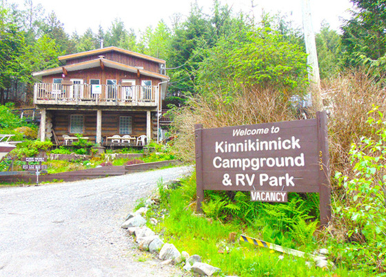 Kinnikinnick Campground - Profitable Campground/RV Park - Port Edward, BC