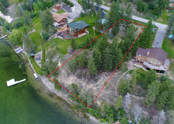 Lakeshore Building Lot - Eagle's Nest Estates - Canal Flats