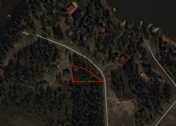 Serviced Recreational Lot Steps from the Lake - East Barriere Lake, BC