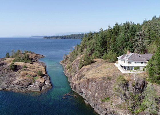 90 Acre Trophy Oceanfront Estate - Texada Island, BC