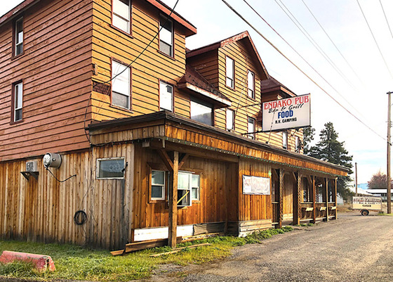 Historic Hotel and Pub with Frontage Directly onto Highway 16 - Endako, BC