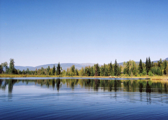 Nature Lover's Lakefront Acreage with Commercial Zoning - Herman Lake, BC
