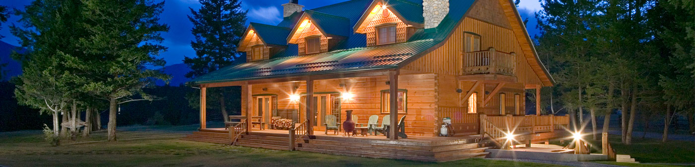 Landquest log homes