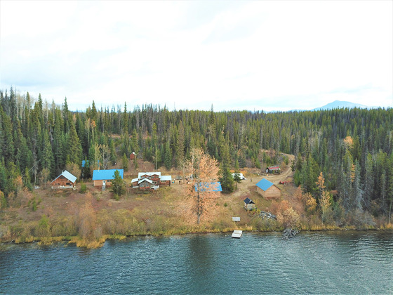 Lakefront Retreat or Fishing Lodge - Tizgay Lake, BC