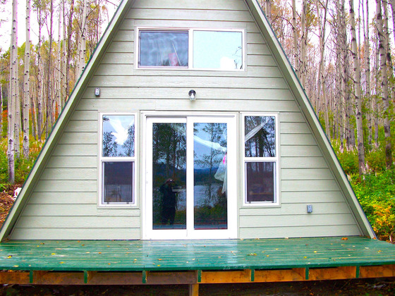 Private Lakefront Acreage with a New, Cozy A-Frame Cabin - Fort St. James, BC