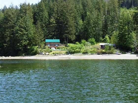 5.88 Acre Oceanfront with Main Home, Guest Cottage & Dock - Desolation Sound, BC