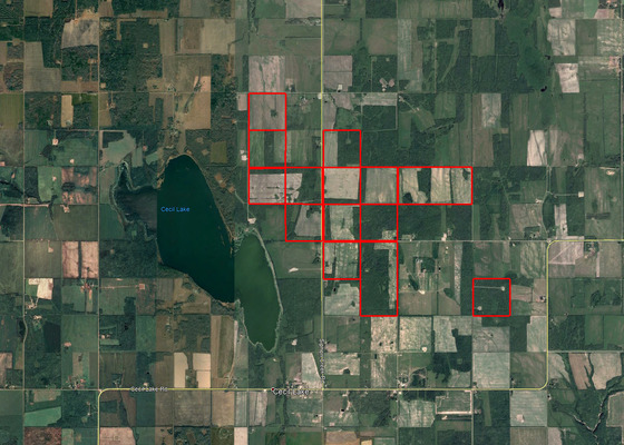 Cecil Lake Ranch - 2,390 Acres of Priced Right Farmland Under 30 km from Fort St. John