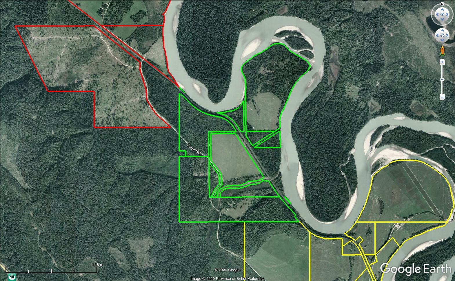 Map08 catfish creek ranch