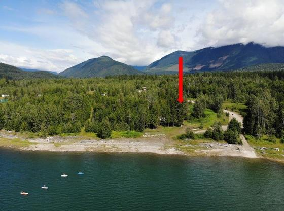 Serviced Lot Steps to Lake - Gorgeous Lake Mountain Vistas - Kootenays