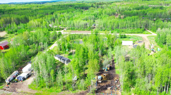 Affordable Hobby Farm Style Acreage Minutes North of Fort St. John