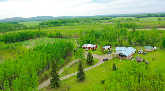 160 Acres of Serene Farmland and Wilderness with Two Full Homes and Tons of Wildlife - Beryl Prairie, BC