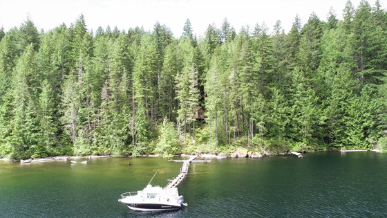 Affordable Lakefront Cabin with Dock - Powell Lake, BC