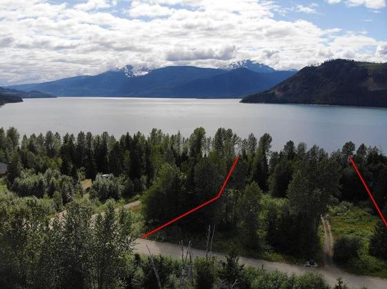 Lakefront Gem in the Kootenays - Serviced Lot on Upper Arrow Lake
