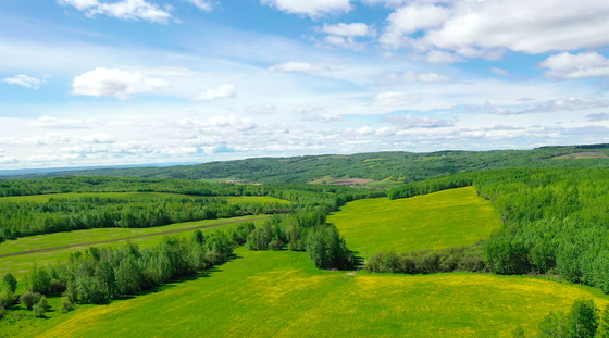 1,303 Acre Ranch with 635 Acres of Adjacent Leasehold Only 10 Minutes North of Fort St. John, BC