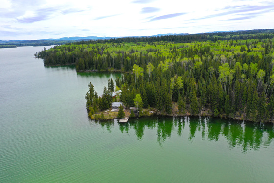 Picturesque Lakefront Cabin on 5.4 Acres along the Banks of Sheridan Lake