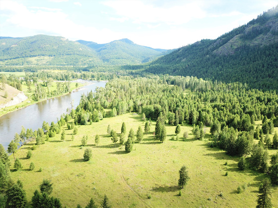 Kettle River Wildlife Sanctuary near Rock Creek, BC