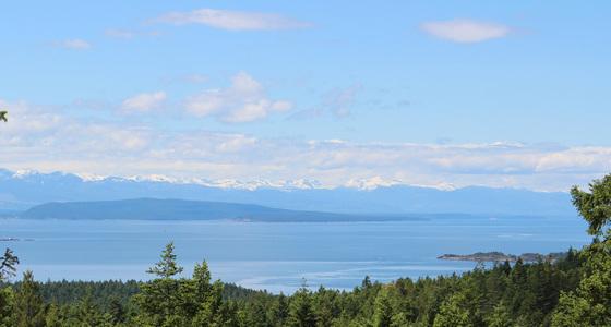 Lasqueti Island Ocean View