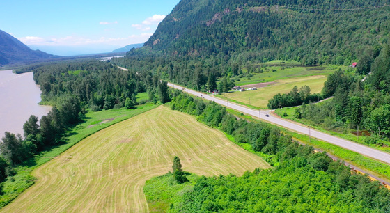 35 Acre Farm Parcel with Home and 1,700 ft of Frontage on the Fraser River - Agassiz, BC