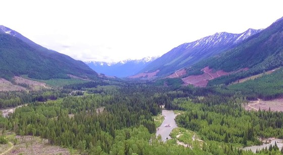 Large Riverfront Acreage - Kimberly, BC