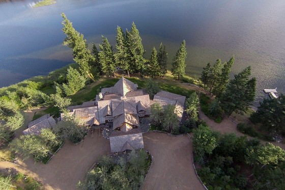 """Buck's Landing"" Waterfront Estate - Glimpse Lake, BC"