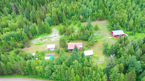 Affordable Equestrian or Hobby Farm Property Located on 8.92 Acres in the Robson Valley - Dunster, BC