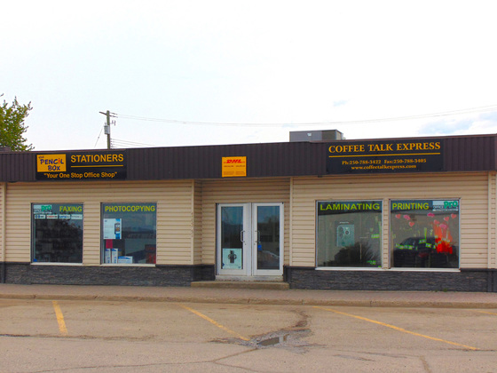 Highly Reputable Turnkey Retail Operation Plus 6,000 ft<sup>2</sup> Building for Sale - Chetwynd, BC
