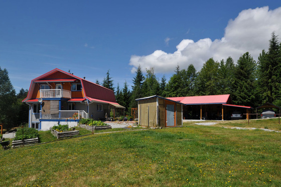 15 Acre Farm/Equestrian Property - Texada Island, BC