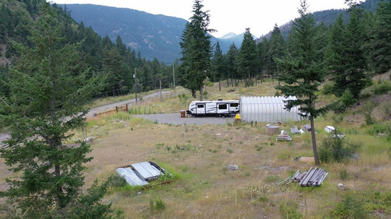 Stunningly Scenic 40 Acre Recreational Lot Situated Only 30 minutes from Lillooet - Lillooet, BC