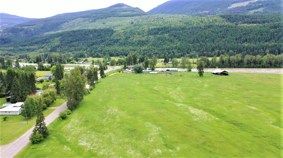 75 Acres of Beautiful Flat Farmland along the Banks of the North Thompson River - Clearwater, BC