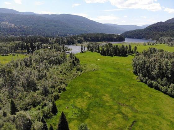 Scenic Lakefront/Off-Grid Farmland with Creek - Moyie, BC