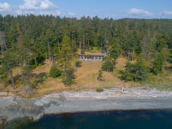 Sidney Island Oceanfront Acreage -  Strata Lot 74