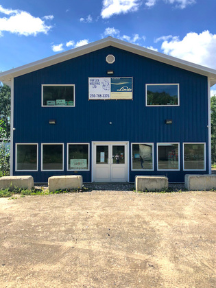 16 Acre Industrial Parcel with Office/Retail Building and Large Shop - Chetwynd, BC