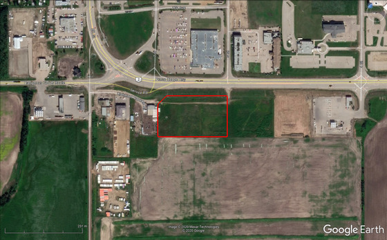 6.15-Acre Commercial Lot with Highway Frontage in Bustling Dawson Creek, BC