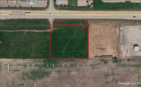 4.24-Acre Commercial Lot with Highway Frontage in Bustling Dawson Creek, BC