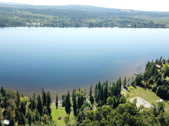 Affordable and Scenic 5 Acre Lot with Lake Frontage on Big Lake - Big Lake, BC