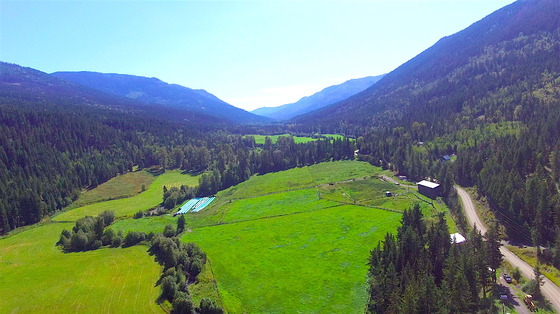 Historic Hobby Farm and Equestrian Estate in the Lush Heffley Valley - Whitecroft, BC