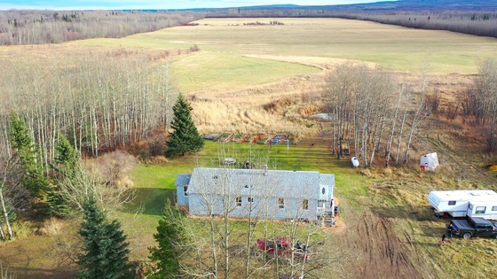 157 Acre Homestead with Cozy Farm Home Only 10 Minutes from Dawson Creek, BC