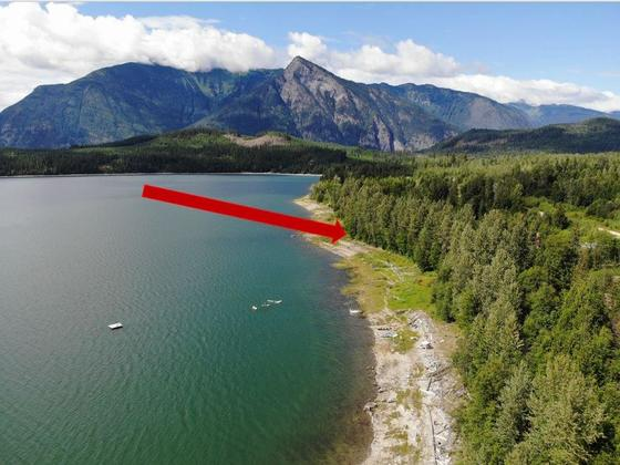 Lakefront Gem in the Kootenays - Serviced Lot on Upper Arrow Lake