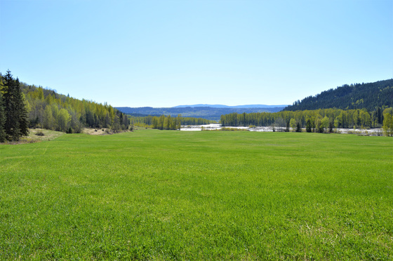 Riverfront Starter Ranch with Gold Claims - Quesnel, BC
