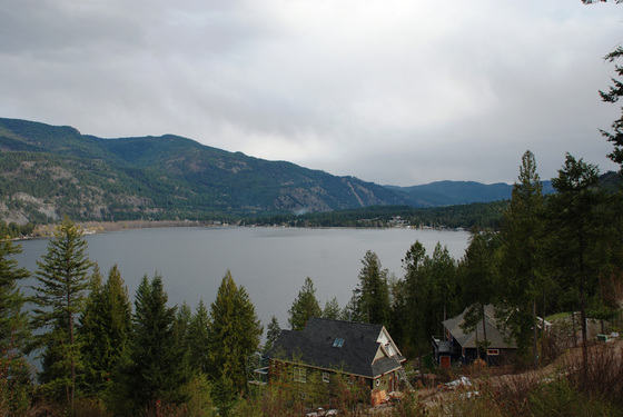 Large Lake View Acreage - Christina Lake, BC