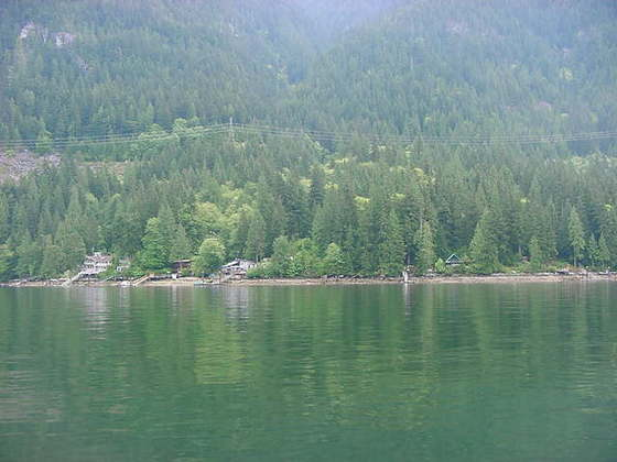 Indian Arm Recreational Waterfront Lot