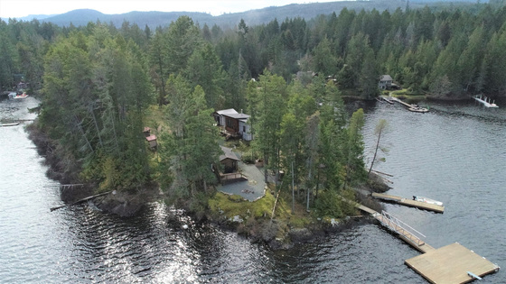 1.29 Acre Private Island on Shawnigan Lake - Vancouver Island