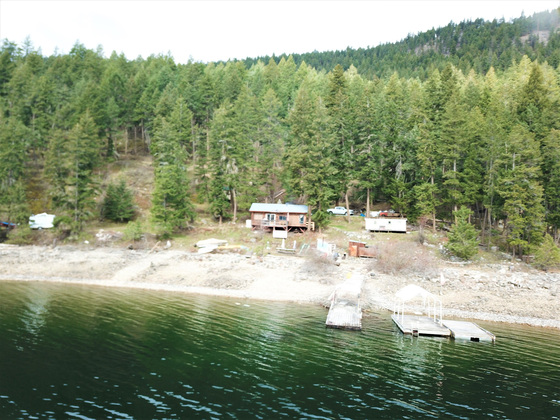 Rare Freehold Lakefront Acreage - Little Shuswap Lake, BC