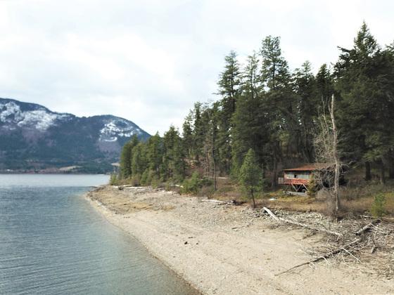 Trophy Lakefront Acreage or Development Property - Little Shuswap Lake, BC