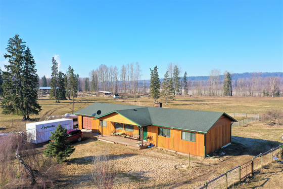 Picturesque 200-Acre Riverfront Farm with Rich Fertile Soil and only 15 minutes from Prince George, BC